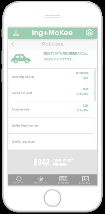 Ing + McKee Mobile App